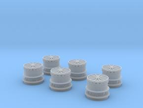 1/200 DKM Capstan Set in Smoothest Fine Detail Plastic