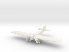 Bleriot BL.127 1/285 6mm in White Strong & Flexible
