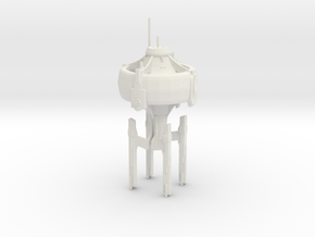 U.S.S. Stargazer in White Natural Versatile Plastic