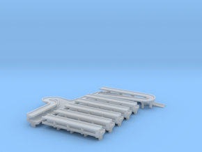 Pier Terminal  Ramp Street 1/1250 scale in Smooth Fine Detail Plastic