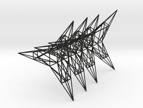 Pylon Accessories Stand 3 Tower in Black Natural Versatile Plastic
