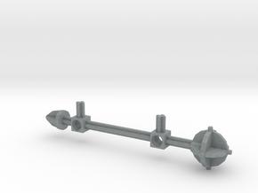 Bionicle staff (Nuju, set form) in Polished Metallic Plastic