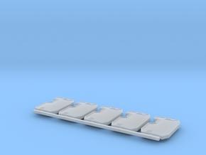 Boarding Shield V1 X5 in Smoothest Fine Detail Plastic