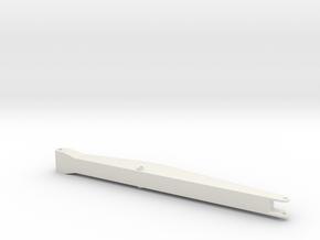 straight boom Volvo ec220E in White Natural Versatile Plastic: 1:50