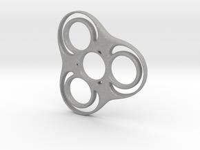 Trefoil Circle Spinner in Aluminum