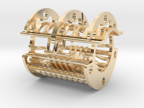 The Destroyer Chassis Chamber in 14K Yellow Gold