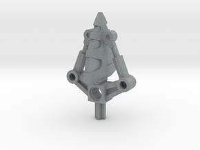 Bionicle weapon (Vezok, set form) in Polished Metallic Plastic