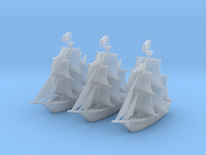 Light Frigate Squadron, 22 gun: 1/500 scale in Smooth Fine Detail Plastic