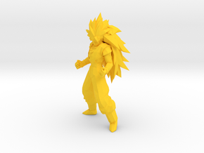 1/24 Goku Super Saiyan 3 in Yellow Processed Versatile Plastic