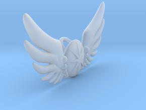 Star Wing Brooch for 60 cm doll in Smooth Fine Detail Plastic