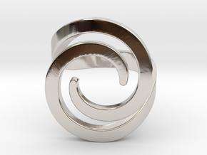 Fashion ring in Platinum