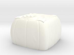 Moon cake 3 keycap - CherryMX in White Processed Versatile Plastic