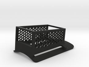 mobius cap mount in Black Natural Versatile Plastic