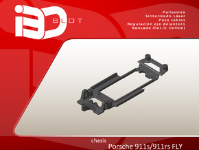 Chasis para Porsche 911s/rsr Fly in Black Natural Versatile Plastic