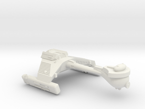 3125 Scale Klingon F5 Frigate WEM in White Natural Versatile Plastic