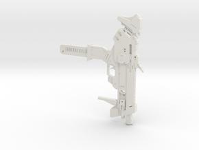 Sombra's Gun in White Natural Versatile Plastic