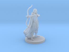 Elf Female  Ranger in Smooth Fine Detail Plastic