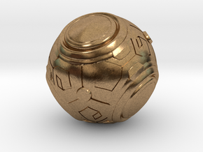 Zenyatta's Ball (Color/Different Sizes available) in Natural Brass: Extra Small