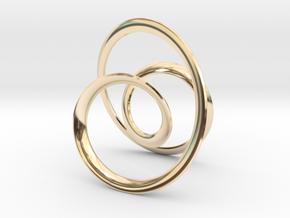 Geometric Pendants  in 14k Gold Plated Brass