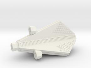 3788 Scale Tholian Scout (SC) SRZ in White Natural Versatile Plastic
