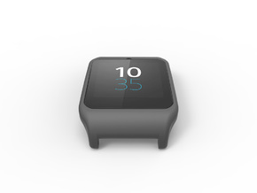 Sony SmartWatch 3 adapter 22mm in Black Natural Versatile Plastic