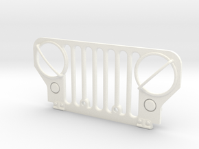 Simensays Wild Willy M38 Grille in White Processed Versatile Plastic