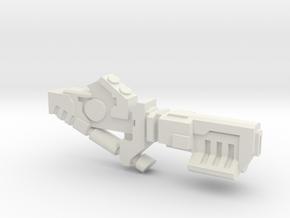 Ionic blaster Mk3 in White Natural Versatile Plastic