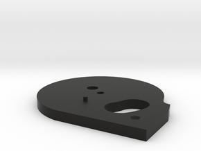 Wicked Air Rifle 30CAL Mag plate in Black Natural Versatile Plastic