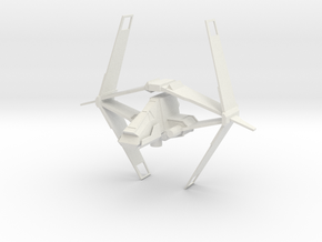 Sith Striker - Variation A in White Natural Versatile Plastic