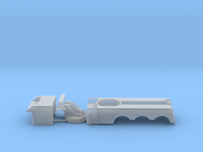 1/64 Rotator - MainBody / turret / front box  in Smooth Fine Detail Plastic