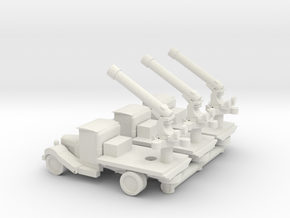 GAZ AA truck  in White Strong & Flexible