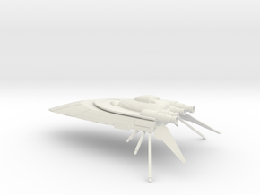 Hutt Cartel Yacht  in White Natural Versatile Plastic