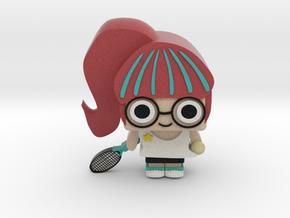 Tennis girl in Full Color Sandstone