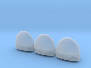 tilt tub  three pack in Smooth Fine Detail Plastic