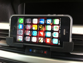 Car iPhone Holder in White Natural Versatile Plastic