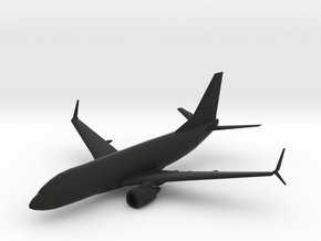Boeing 737-700 in Black Natural Versatile Plastic