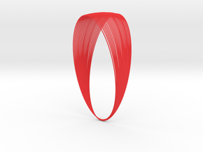 Cassini Grand Finale - lite in Red Processed Versatile Plastic