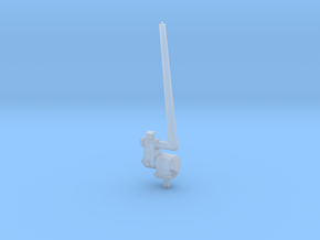 1/96 scale Aft Antenna - Single Right side in Smooth Fine Detail Plastic
