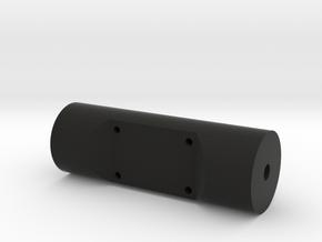 Raspberry Pi Camera Cylinder Mount in Black Natural Versatile Plastic