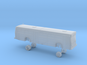 HO scale bus AC Transit D40 2500s in Smooth Fine Detail Plastic
