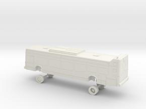 HO Scale Bus NABI 40-LFW OCTA 2200/2300s in White Natural Versatile Plastic