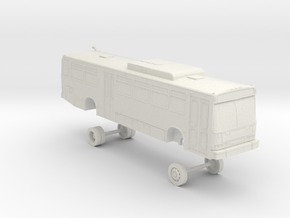 HO Scale Bus Neoplan AN440 LACMTA 4500s in White Natural Versatile Plastic