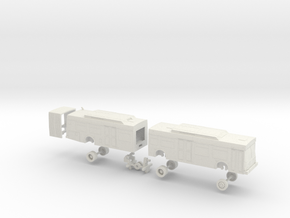 HO Scale Bus New Flyer D60LF Las Vegas RTC 800s in White Natural Versatile Plastic