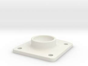 AT-ST Webbing Square 2 in White Natural Versatile Plastic