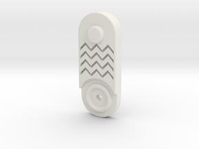 Commpad Jedi Fits 5mm LED in White Natural Versatile Plastic
