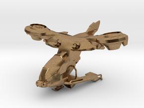 AV-14 Hornet  1:100 in Natural Brass