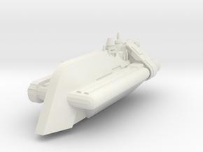 Hutt Quartermaster-class Cargo Hauler  in White Natural Versatile Plastic