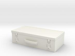 Printle Thing Suitcase 02 - 1/24 in White Natural Versatile Plastic