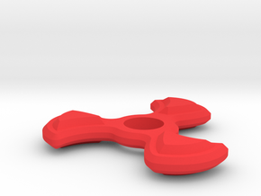Fly Away Spinner in Red Strong & Flexible Polished