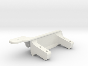Driver side differential - Support servo AR60-V4 in White Strong & Flexible